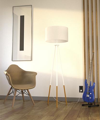 Визуализация квартиры вертикальная миниатюра для портфолио